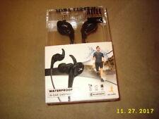 NEW Altec Lansing Sports In-Ear Waterproof Bluetooth Earphones (MZX399-BLK-WM)