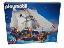 PLAYMOBIL® Piratenschiff 5810 Schwimmt im Wasser oder fährt auf Rollen NEW