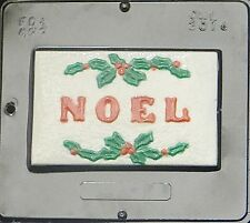 Noel Card Chocolate Candy Mold Christmas  2014 NEW