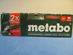 """NEW METABO 600488420 ANGLE GRINDER CORDED 6"""" DISC 13.5 AMP ANTI VIBRATION"""