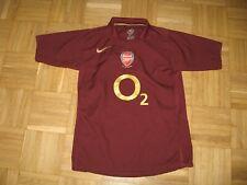 Arsenal Football Shirt Nike Last Season At Highbury 1913- 2006 Age 12/13