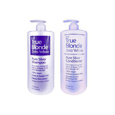 Hi Lift TRUE BLONDE Zero Yellow Pure Silver Shampoo 1L +/- Conditioner 1L CHOOSE