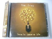 The Fray How to Save a Life Japan CD w/Obi