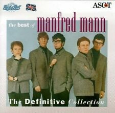 MANFRED MANN BEST OF The Definitive Collection Greatest Hits Compilation CD