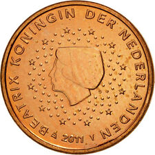 [#461313] Pays-Bas, Euro Cent, 2011, SPL, Copper Plated Steel, KM:234