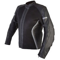 Spada Leather and Textile MOTORCYCLE JACKET NIMBUS Mesh Black