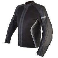 Spada Leather and Textile MOTORCYCLE JACKET NIMBUS Mesh Black