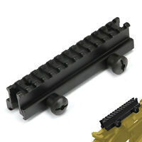 "see-thru Flat Top 1"" Riser Scope Mount for 20mm Weaver Picatinny Rail"