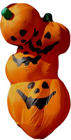 *8' Inflatable Stack of Pumpkins -Halloween Decorations