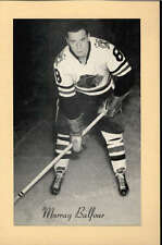 1944-63 BEEHIVE GROUP 2 PHOTOS   MURRY BALFOUR CHICAGO BLACK HAWKS EX-MT F2518