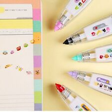 DIY Cute Cartoon Colorful Correction Tape School Supplies Kids Gift Stationery