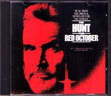 THE HUNT FOR RED OCTOBER Basil Poledouris CD Soundtrack Jagd auf Roter Oktober