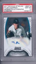 2011 Bowman Sterling Tyler Anderson   PSA 10
