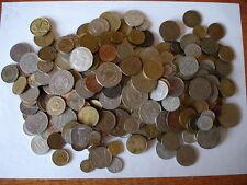 4,5 kilos de monedas de paises de Europa, excepto de España, muy variadas