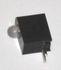 3mm Red/Green Bi-Color 2 lead LED in Black Housing Pack of 10
