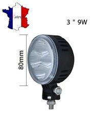 LAMPE HAUTE PUISSANCE RONDE 12V 24V LED PROJECTEUR POUR SCANIA DAF MAN RENAULT