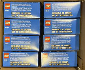 (8) 2017 LEGO City Coast Guard Starter Sets (60163), Retired, New Sealed Boxes