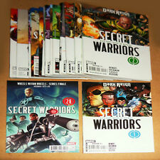 Secret Warriors . Complete Coll 1- 28. Marvel  2009- 2011 - FN / VF - VF - minus