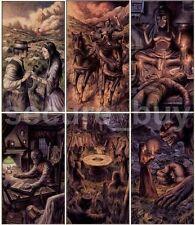 New Tarot Dark Grimoire Necronomicon 78 Fortune New Sealed Cards Deck
