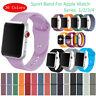 Silicone Nylon Sport Strap Apple Watch iWatch Band Smart Wristband 38/40/42/44mm