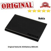 Nokia BL 5CB Battery  For Models 100,101,103,105,106,109,111,113,1616,1800,C1-01
