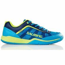 Salming Adder Men's Indoor Court Shoes (Blue) for Squash, Badminton, Pickleball