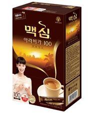 Korean Instant Coffee Mix Maxim Arabica 100 Sticks