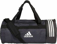 adidas - 3-Stripes Convertible Trainingstasche Duffle Gym Bag training schwarz