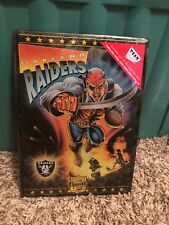 OAKLAND RAIDERS metal sign NWT football pirate Game Day plaque Los Angeles