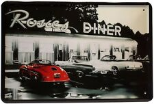 Rosies Diner American Bar USA Blechschild 20x30 cm Reklame Metallschild 390