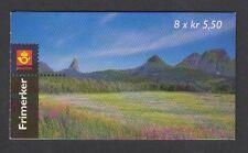 Norvège - 1998, TOURISME LIVRET DE 8 x 5k50 timbres - MNH - SG SB113