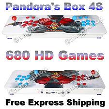 Pandora's Box 4S+ Console de jeu d'arcade 815 HD classique jeux branchez & jouez