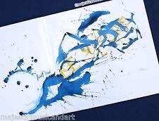 ORIGINAL RAYMOND PETTIBON ART COVER LOWFLOW VINYL LP N.MINT