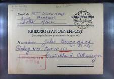 Camp Stalag IID Stargard 1940 POW Prisoner of War Kriegsgefangenenpost L34