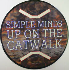 Simple Minds, Up On The Catwalk, NEW/MINT UK PICTURE DISC 7 inch vinyl single