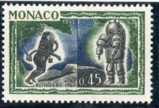 STAMP / TIMBRE DE MONACO N° 594 ** FAUNE / L'HOMME SOUS LA MER / SCAPHANDRES