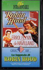 LA LEGGENDA DI ROBIN HOOD - ERROL FLINN - O. DE HAVILLAN - 1938 - VHS SIGILLATO