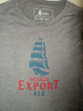 MOLSON EXPORT Beer T-Shirt NEW COLLECTOR TEAM UNISEX Promo + Great for LEAGUE ++