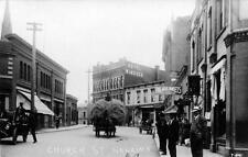 Photo. ca 1909. Nanaimo, BC Canada. Church Street