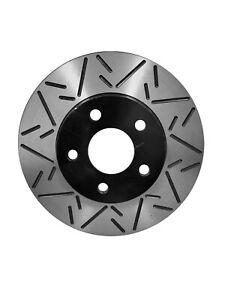 Duraplus Rear Coat F-Slot Brake Rotors Ceramic Pads ESF-54156x-CRD1259