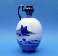 Blue Art Nouveau Decorative Porcelain & China