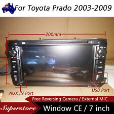"7"" inch head unit CAR DVD GPS Player Stereo  For Toyota Prado 2003-2009 2 din"