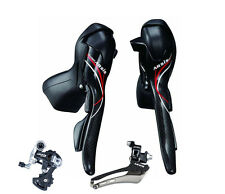 MicroShift Carbon Arsis 2X10 Speed Group Set Dual Control Levers Fit For Shimano