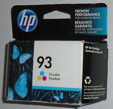 PRINTER INK CARTRIDGE OEM HP 93 HP93 ORIGINAL GENUINE TRI-COLOR JAN 2016