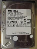 """320 GB Toshiba MQ01ABD032 AX001A SB5 12NOV2012 2,5"""" disco rigido PCB OK"""