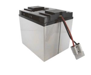 APC RBC7 Replacement Assembled Cartridge with 2 x 12V 18Ah SigmasTek Batteries