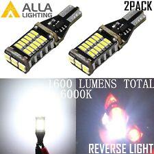 Alla Lighting 30-LED Back up Reverse Light Bulbs Backup Lamps White Super Bright