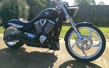 Universal Motorcycle Lower Fairing Chin Spoiler in Primer