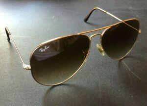 Ray-Ban Aviator Large Sunglasses RB3025 001/51 62-14mm Gold Frame & Brown Lenses