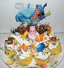 Disney Finding Nemo Cake Toppers Set of 12 Fun Figures with Dory, Nemo and More!